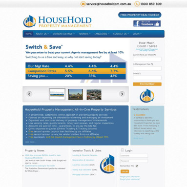Online Services - Household Property Management Online Portfolio